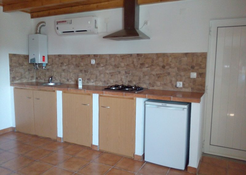 Kitchen with airconditioning